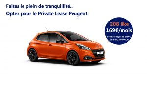 Peugeot Private Lease 208